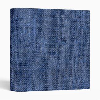 Textura de lino retra azul