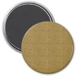 Textura de lino retra del oro imanes de nevera