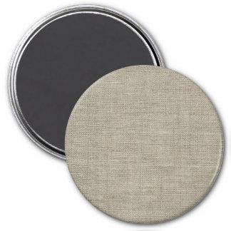 Textura de lino retra imán
