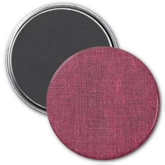 Textura de lino retra púrpura iman para frigorífico