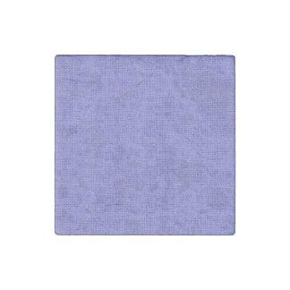 Textura de lino retra púrpura imán de piedra