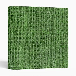 Textura de lino retra verde