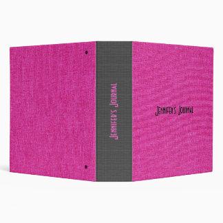 Textura de lino rosada y negra de la arpillera