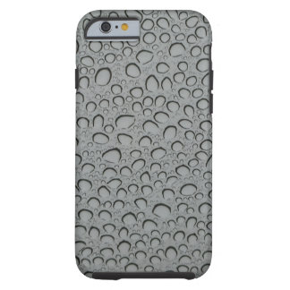 Textura de los descensos del agua funda para iPhone 6 tough