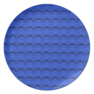 Textura de lujo de Contruction del ladrillo del ju Plato Para Fiesta
