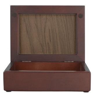 Textura de madera de Brown de la moca hermosa Cajas De Recuerdos
