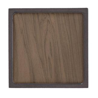 Textura de madera de Brown de la moca hermosa Caja De Joyas De Calidad