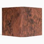 Textura de madera de caoba del Burl