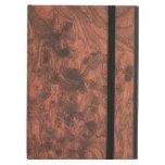 Textura de madera de caoba elegante rica del grano