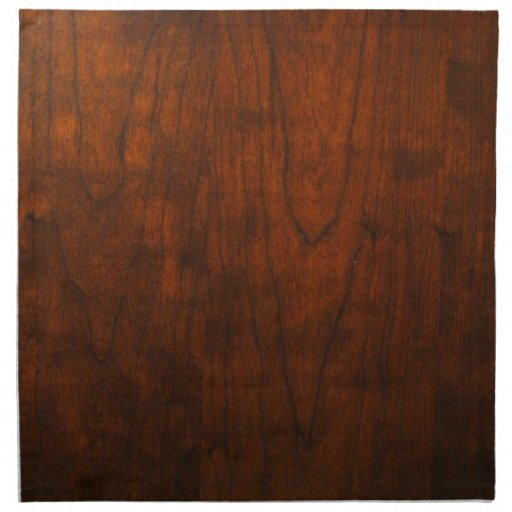 Textura de madera de caoba servilletas imprimidas