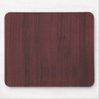 Textura de madera de caoba mouse pad