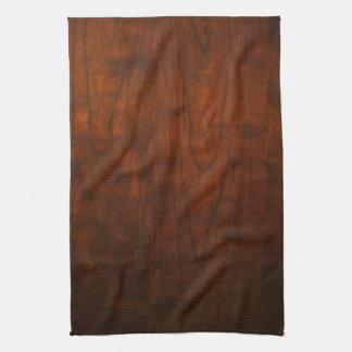 Textura de madera de caoba toalla