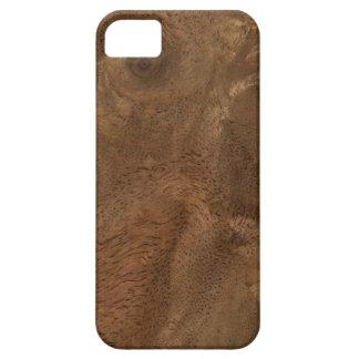 Textura de madera de la raíz iPhone 5 carcasa