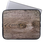 Textura de madera del grano fundas computadoras