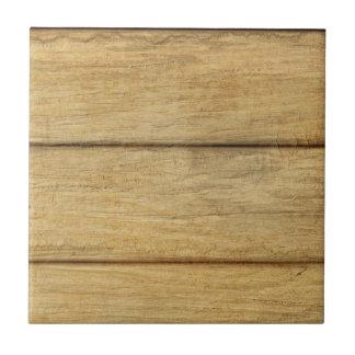 Textura de madera del panel azulejo cuadrado pequeño