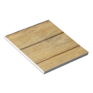 Textura de madera del panel bloc de notas