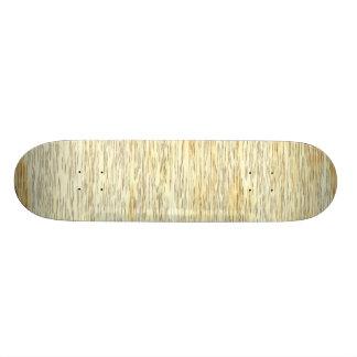 Textura de madera del roble o de pino patines personalizados