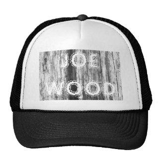 Textura de madera gorras de camionero