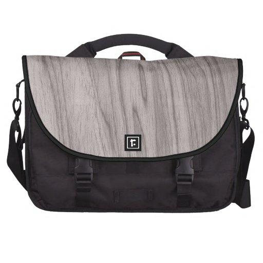 Textura de madera gris hermosa bolsa de ordenador
