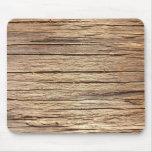 Textura de madera Mousepad Alfombrillas De Ratones