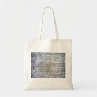 Textura de madera pintada blanco bolsas de mano