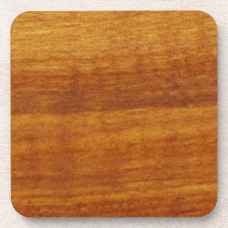 textura de madera posavasos