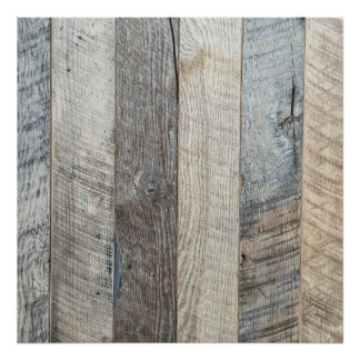 Textura de madera resistida del fondo del tablón póster