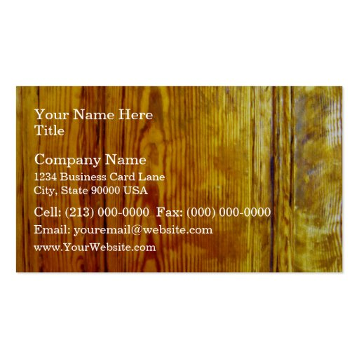 Textura de madera roja del diseño interior de los  tarjeta de visita