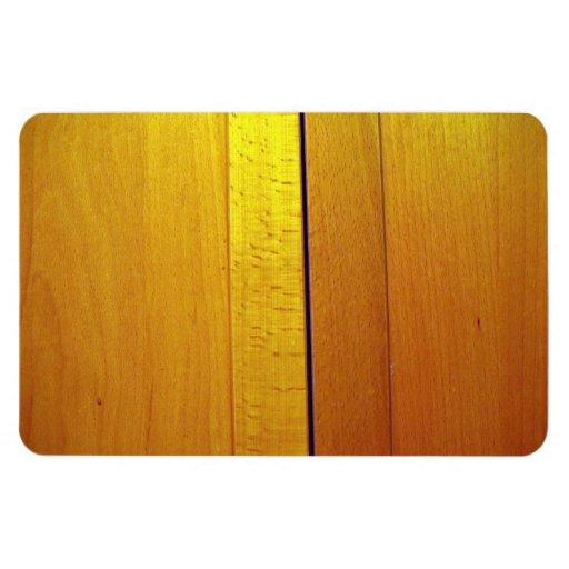 Textura de madera roja del diseño interior imán de vinilo