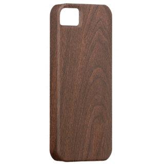 textura de madera roja iPhone 5 Case-Mate carcasas