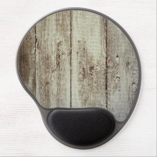 Textura de madera rústica alfombrillas con gel