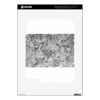 Textura de mármol del molde iPad 3 pegatina skin