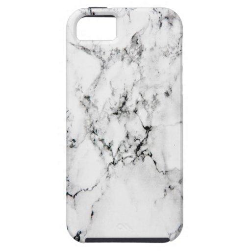 Textura de mármol iPhone 5 Case-Mate fundas