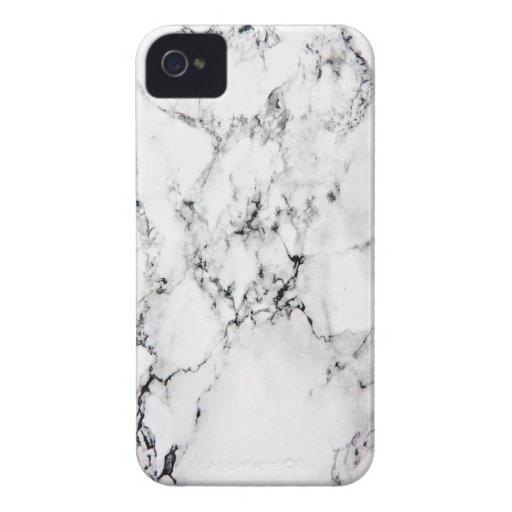 Textura de mármol iPhone 4 Case-Mate carcasas