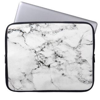 Textura de mármol funda portátil