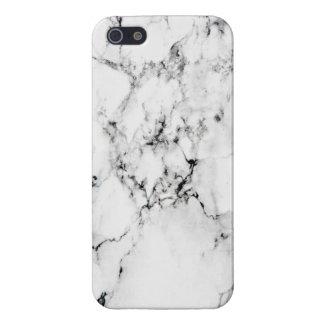 Textura de mármol iPhone 5 carcasa