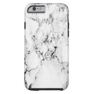 Textura de mármol funda resistente iPhone 6