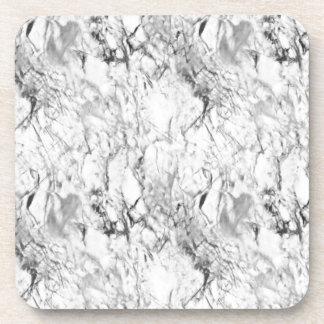 Textura de mármol posavasos de bebidas
