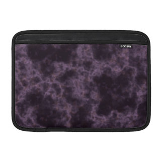 Textura de mármol púrpura funda  MacBook
