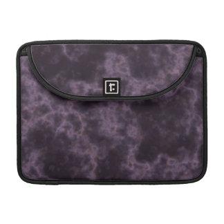 Textura de mármol púrpura fundas para macbook pro