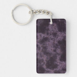 Textura de mármol púrpura llaveros