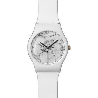 Textura de mármol relojes de pulsera