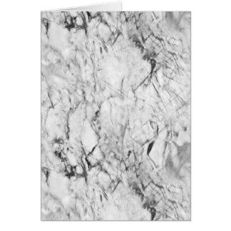 Textura de mármol tarjeta de felicitación