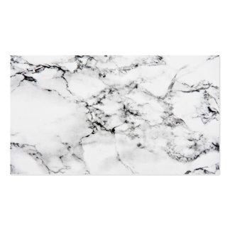 Textura de mármol tarjetas de visita