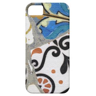 Textura de mosaico de Gaudi iPhone 5 Fundas