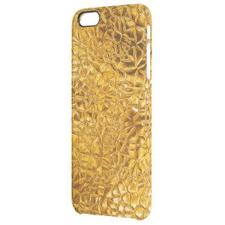 Textura de oro del vitral del fractal