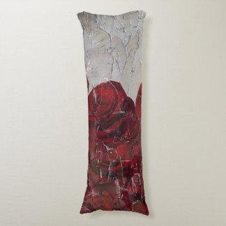Textura de Pallete del aceite de rosas rojos del Almohada