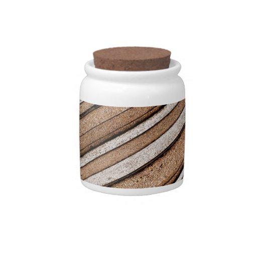 Textura de piedra concreta plato para caramelo