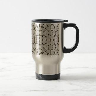 Textura de piedra de la pared del modelo taza de café