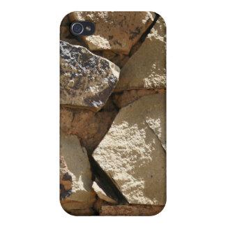 Textura de piedra iPhone 4 cárcasas